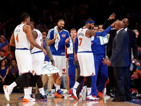 NBA: Charlotte Bobcats at New York Knicks