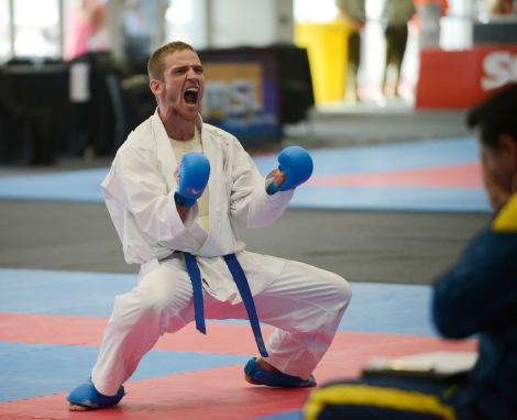 Karate masculino hasta 75kg