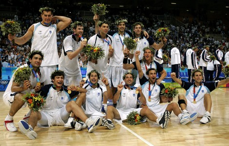GREECE OLYMPICS BASKETBALL